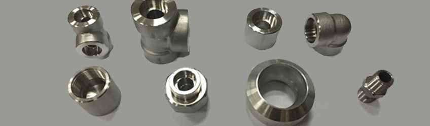 Monel 400 Forged Socketweld Fittings